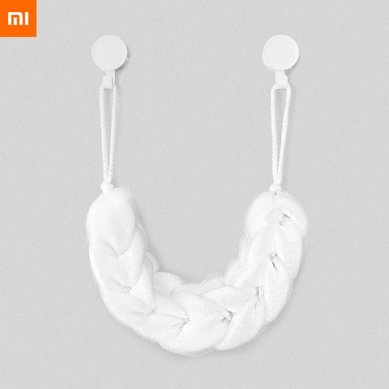 New original Xiaomi Mijia Youpin Bath strip white Rich in foaming soft texture easy to clean high quality