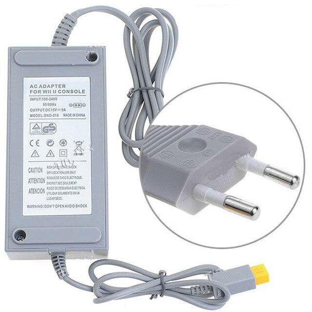 EU Plug Power supply AC Adapter For WiiU Console 110V-220V