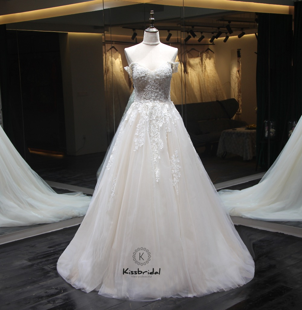 Sweetheart Wedding Dress With Cap Sleeves: New Design Long Wedding Dress 2018 Sweetheart Neck Cap