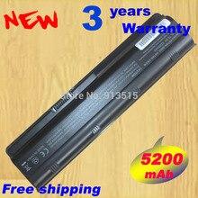 5200mAh Battery for HP Pavilion DV3 DM4 DV5 DV6 DV7 G4 G6 G7 635 for Compaq
