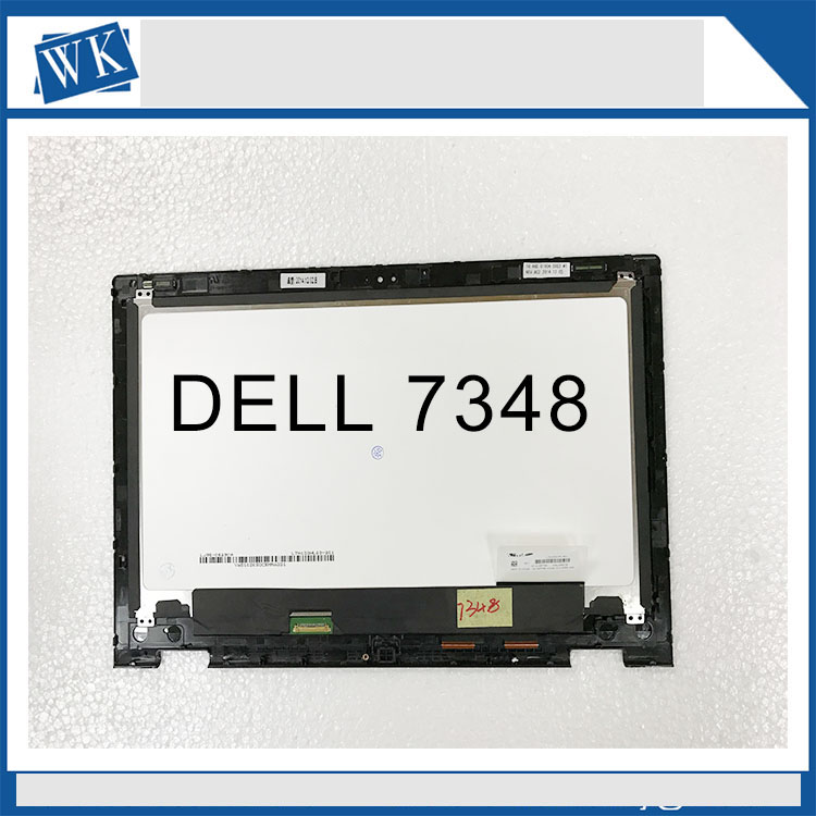 Free shipping 13.3'' LCD Touch Screen LTN133HL03-201 Assembly For Dell Inspiron 13 7000 series 7347 7348 P57G (1920*1080) free shipping n156bgn e41 nt156whm t00 40pins edp lcd screen panel touch displayfor dell inspiron 15 5558 vostro 15 3558 jj45k