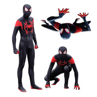 2019New model Cosplay Spider ManSmall black spider Siamese package A tights suit Role playing costume A jumpsuit customize Post