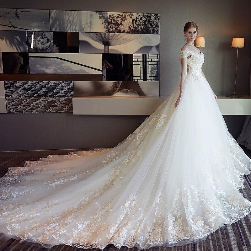 Aliexpress.com : Buy Luxury Pregnancy Wedding Dress Court Pregnant ...