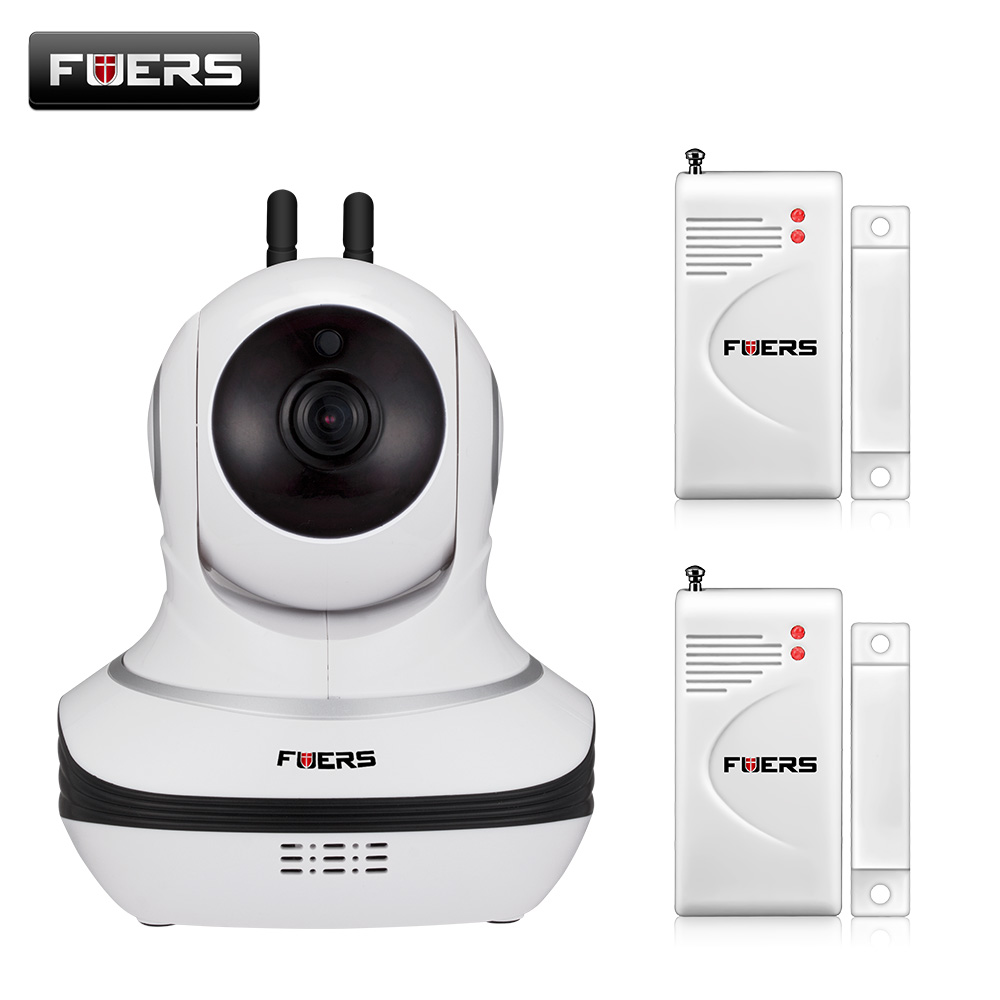 Fuers P2P 1080P IP Camera Wireless HD CCTV WiFi Home Surveillance Camera With PIR Night Vision