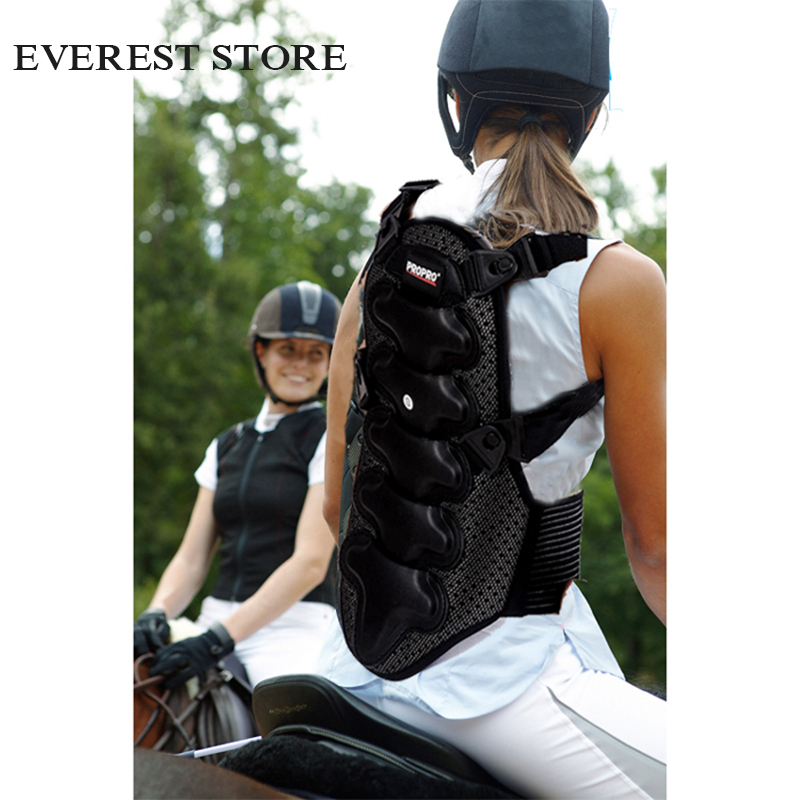 Horse Riding Vest Rider Safety Equestrian Back Protective Body Protector JACKET Racing Equipment Paardensport Cheval A safety equestrian horse riding vest protective body protector navy adult s breathable vest waistcoat camping hiking accessory