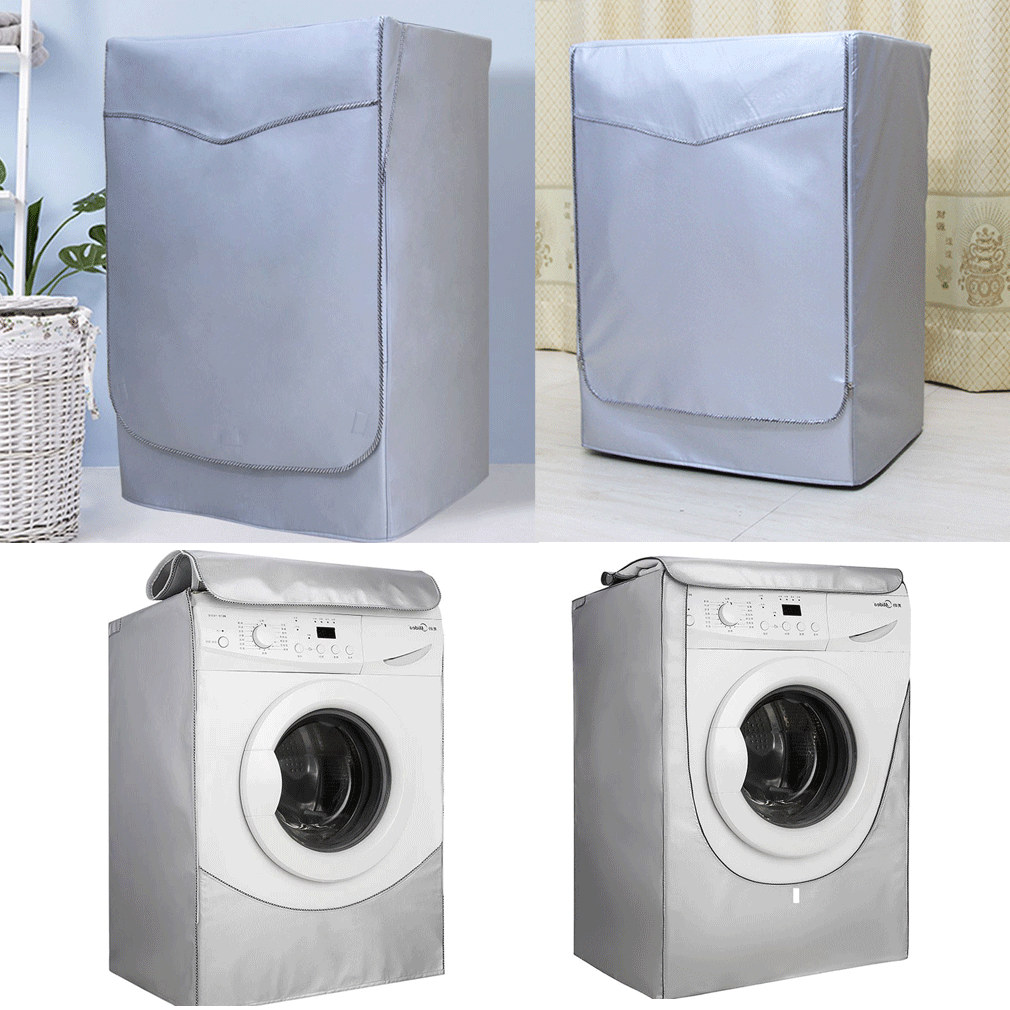 Fully Automatic Roller Washing Machine Covers Waterproof Washing Machine Top Dust Cover Protection Front Load Wash Dryer S-L image