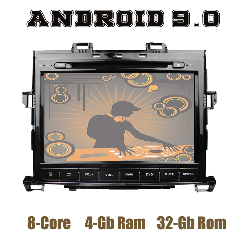 PX5 Android 9 0 Car GPS DVD Multimedia Player for toyota Alphard 2007 2013 with wifi
