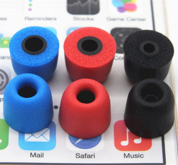 5 Pairs GEVO Memory Foam Earphone tips C set T100T200T400T500 Ear Pads Noise Isolating Earbud For In Ear headphone Free Shipping
