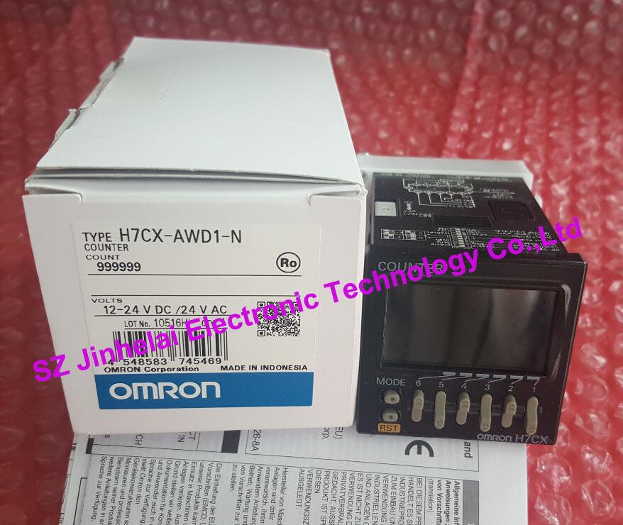 100% New and original H7CX-AWD1-N OMRON 12-24VDC/24VAC 100% new and original h7cx as n h7cx a4s n h7cx a4 n omron 100 240vac