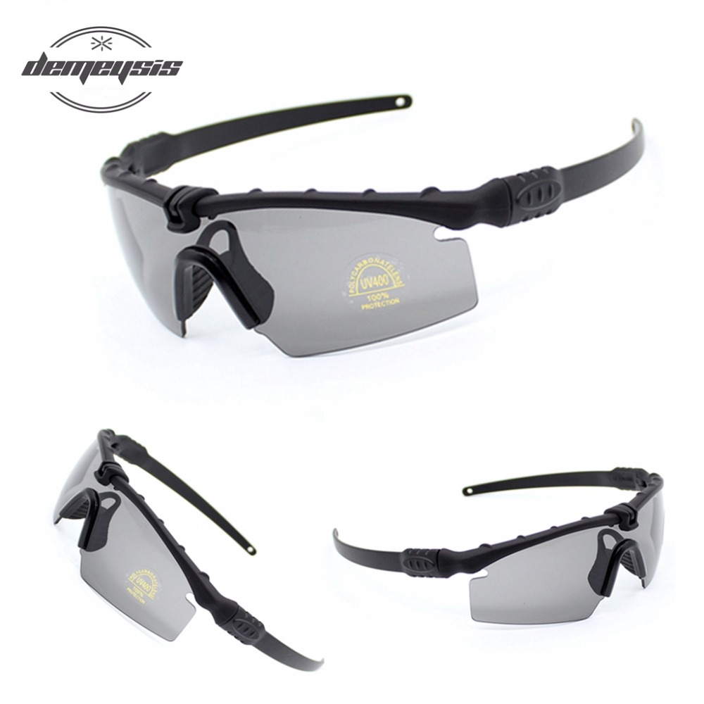 Polarized Tactical Glasses Military Goggles Bullet-proof Army Sunglasses With 3 Lens Men Shooting Eyewear Motorcycle Gafas okulary wojskowe