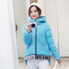 Winter clothes Large size Was thin Short section bread Cotton coat jacket