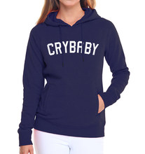 Cry Baby printing pullovers femme fall winter new arrival casual sweatshirts long sleeve black hoodies 2019 women top tracksuits(China)