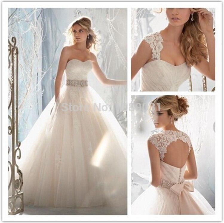 Free Shipping 2019 Wedding Gown Sweetheart Beading Bow Belt Remove Jacket Backless Hot Tulle Wedding Dresses Elegant Bride Dress