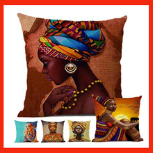 c3392518afe4a5 African Print Cushions popular-buscando e comprando fornecedores de ...
