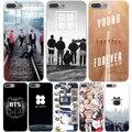 Bts bangtan мальчики Жесткий Прозрачный Чехол Case для iPhone 7 7 плюс 6 6 S Плюс 5 5S SE 5C 4 4S