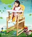Tipos de Combinações de Madeira maciça Cadeira de Jantar Do Bebê Crianças Cadeira de Alimentação Do Bebê cadeira De Assento de Bebê Mesa Multifuncional Mesa C01
