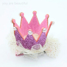 Lace Crown Pearl Princess Hairpin