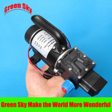 New Arrival automatic pressure switch type with handle and cooling fan 8L/Min DC 100W diaphragm pump 24v