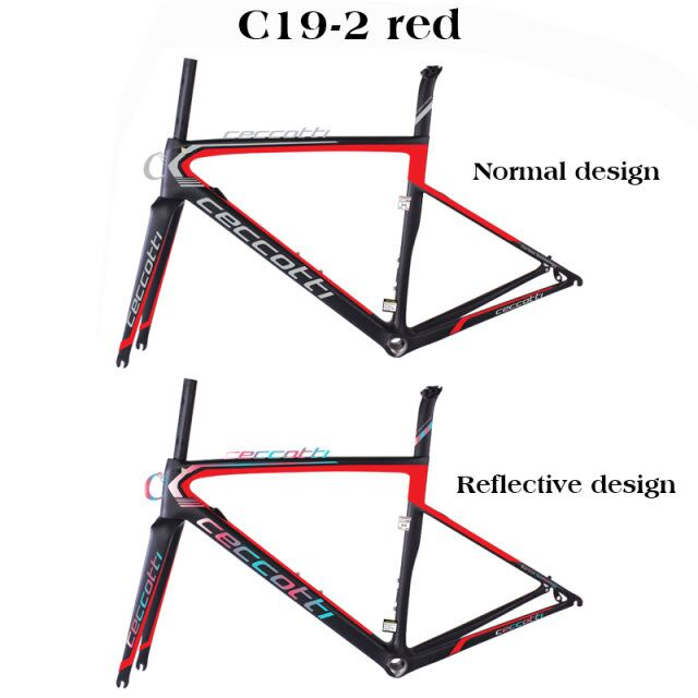 Bicicleta-Frame Bicycle T1100 Ceccotti DI2 UD Carbon Cheap New-Design title=
