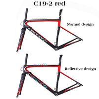 Cuadro de bicicleta Ceccotti nuevo diseño T1100 Marco de bicicleta de carretera de carbono UD cuadro de carbono para carretera marco barato DI2|Cuadro de bicicleta| |  -