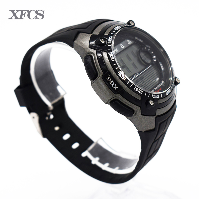 XFCS waterproof wrist digital automatic watches for men digitais watch running mens man digitales clock stopwatch