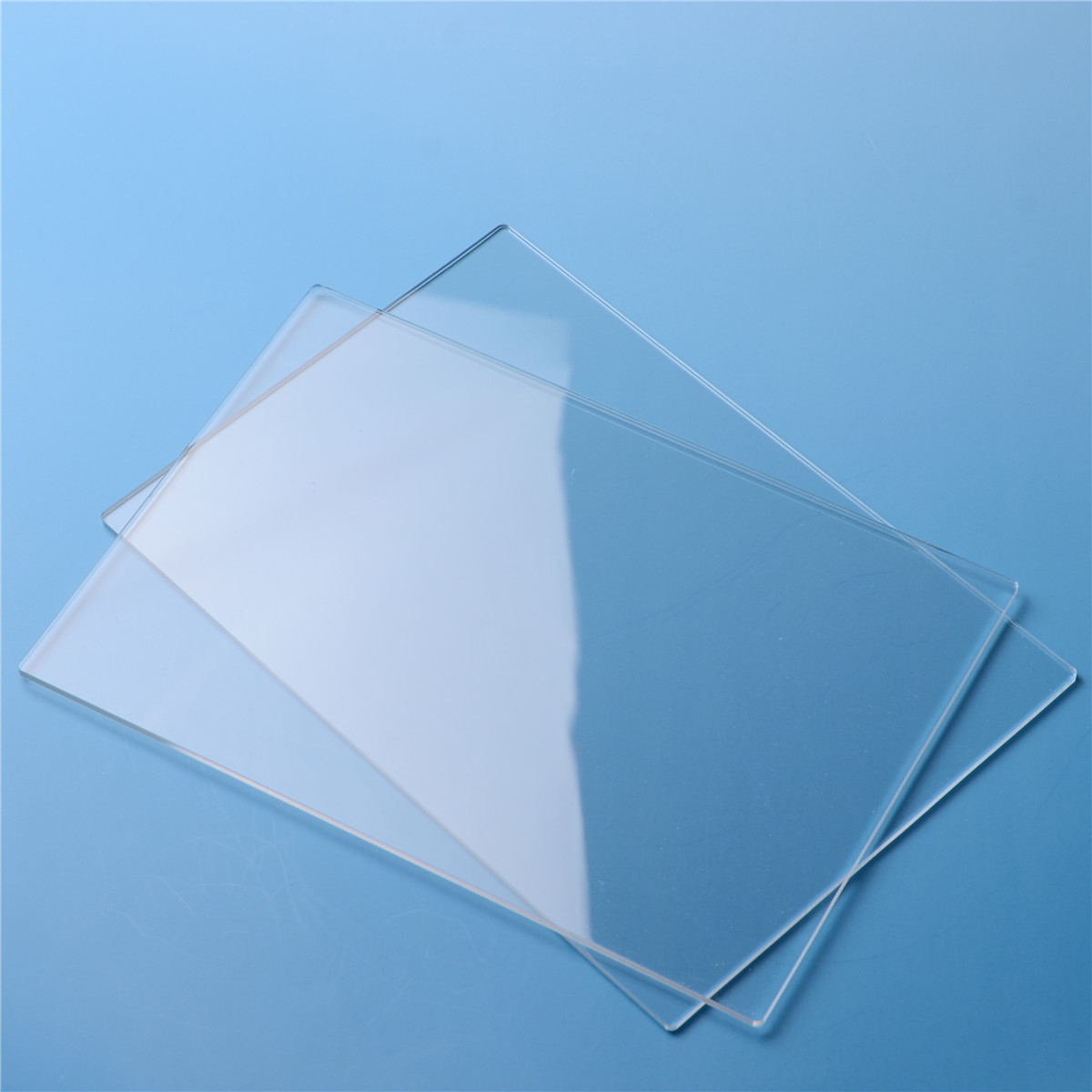 2Pcs/set 3mm Clear Acrylic Cutting Plates Plastic Transparent Sawn ...
