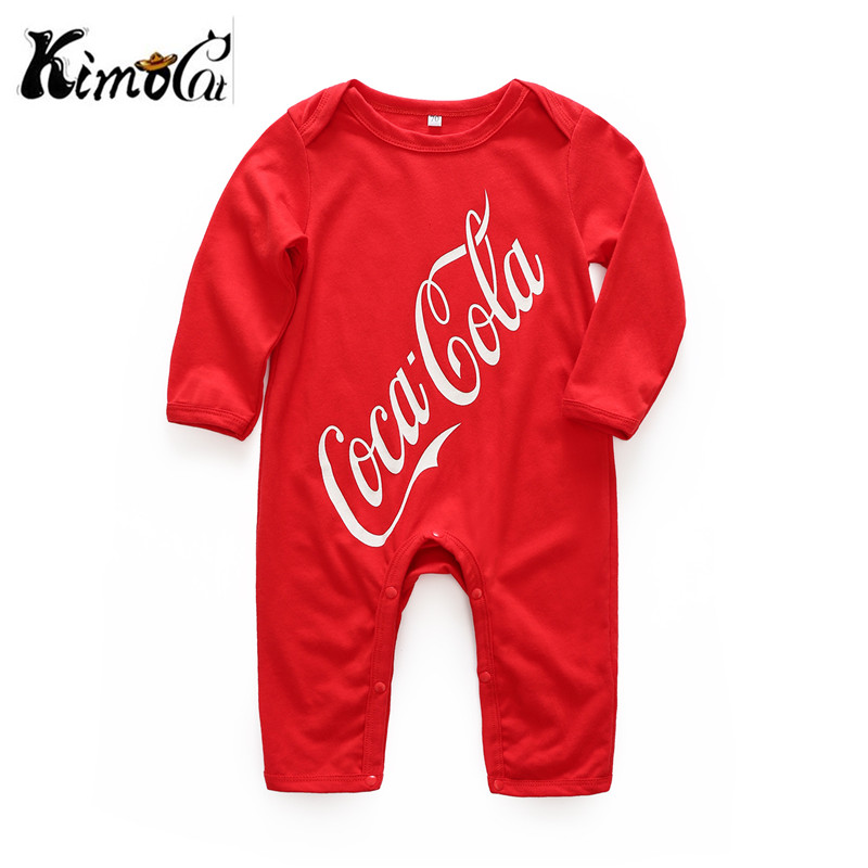 Kimocat Spring and Autumn baby boy girl clothing Cotton Long Sleeved baby boy clothes Cartoon characters baby romper Infantil