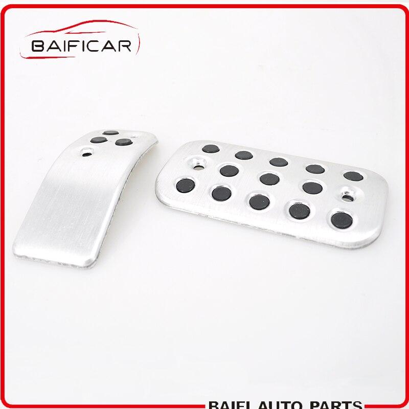 Verantwoordelijk Baificar Gloednieuwe Echt Automatische Aluminium Voetplaat Pedaal Rem Gaspedaal Koppelingspedaal Voor Peugeot 206 207 Vts