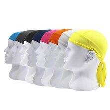 Relefree открытый быстросохнущая шапка головной платок оголовье Летняя мужская Беговая бандана в виде пиратской шляпы капюшон Ciclismo