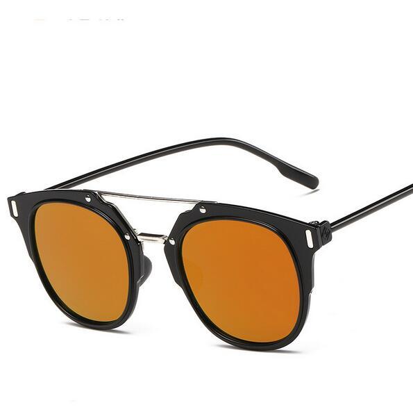 85c023c0dfbe42 Summer Style Reflective Sunglasses Personal Glasses Ladies Sun Glasses  Summer Shade UV400 Eyewear Lunette De Soleil Femme -in Sunglasses from  Women s ...