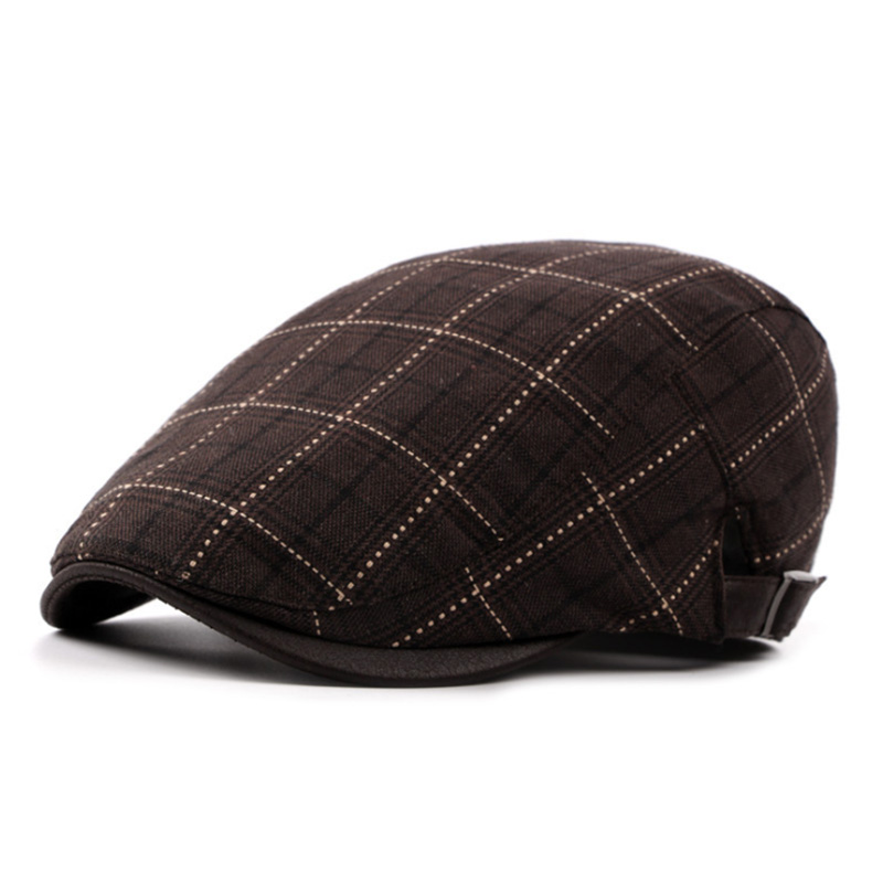 7cb47881 [AETRENDS] 2017 New Winter Plaid Berets Fashion Hats Men's Beret Caps Z  5262-in Berets from Apparel Accessories on Aliexpress.com | Alibaba Group