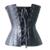 Corsé de cuero cintura trainer caliente shapers bustiers de cintura de corsé Lencería Sexy corsé steampunk ropa gótica corselet