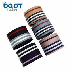 I-181109-1, ruban gros-grain à rayures Double face 1-1/2 ''38MM et ruban gros-grain à rayures 1'' 25mm