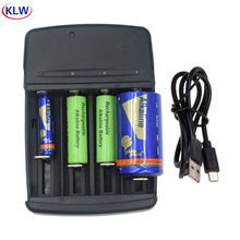 Carregador de bateria de display led inteligente para lr8 a lr6 aa lr03 aaa lr61 aaaa lr14 c lr20 d baterias recarregáveis alcalinas 1.5v