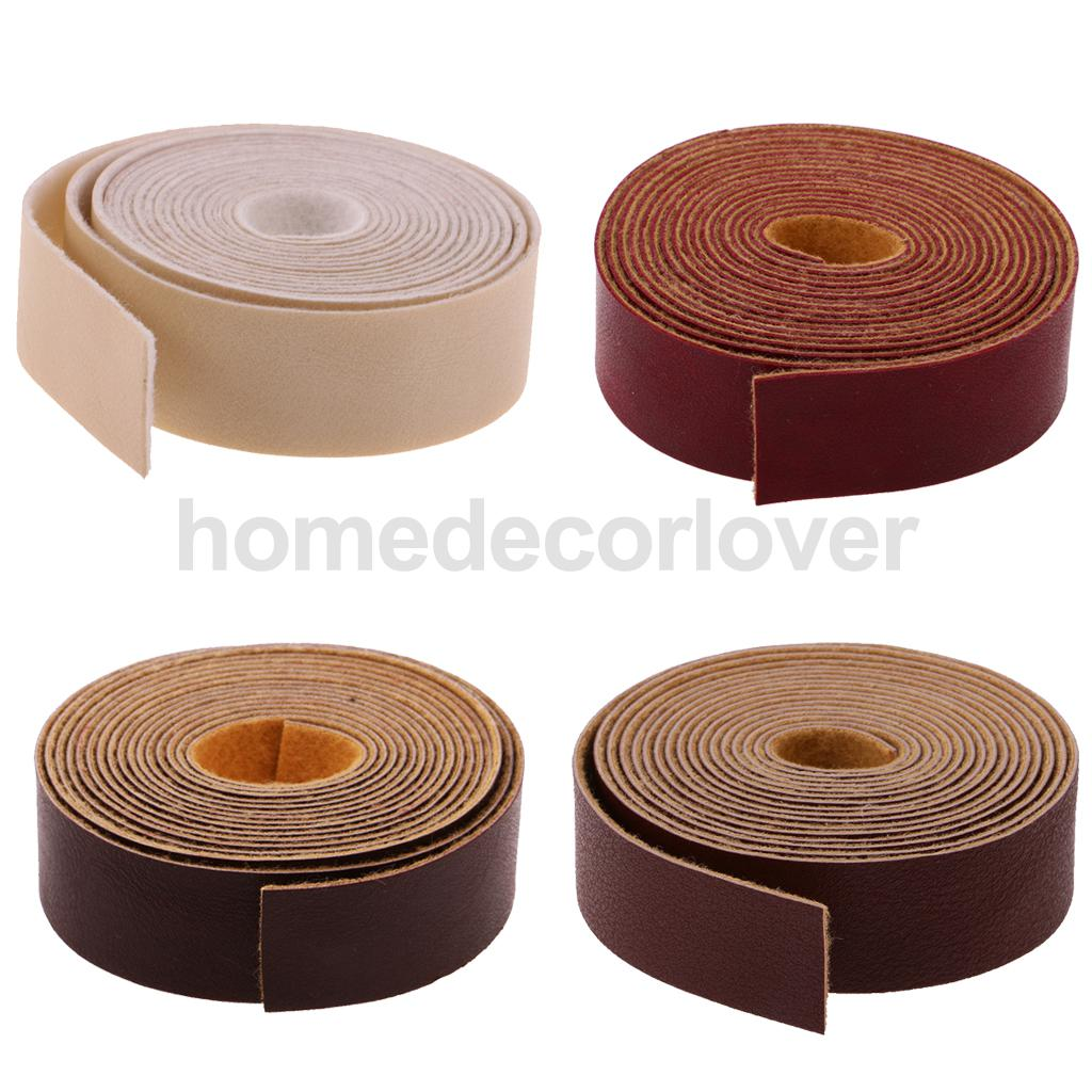 10 Meters DIY Leather Crafts Straps Strips For Leathercrafts Accessories Belt Handle Crafts Making 2cm Wide Durable And Sturdy
