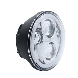 Image 3 - 5.75 polegada moto faróis led kit completo luzes de halo para noite haste ferro 883 dyna sportster 1200 indiano scout triumph
