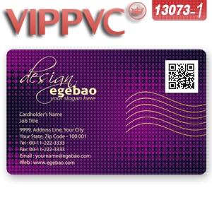 A13073 1 PVC Modle De Carte Visite Pour Impression Simple Face Translucide Cartes