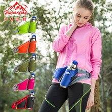 カラフルなユニセックスウエストパックベルトバッグ固体750ミリリットルケトルパック水ボトルホルダー屋外チェストバッグ用ランニングハイキング旅行