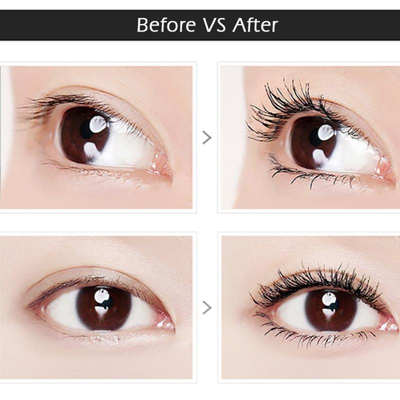 SANANA 4D Silk Fiber Lashes Thick Lengthening Mascara Long Black Lash Eyelash Extension Eye Lashes Brush Makeup Eye Cosmetics 2