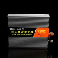 Чистая синусоида Инвертор 300 Вт автомобиля Инвертор DC12V к AC220V алюминиевого сплава USB конвертер высокая эффективность трансформатора горяче