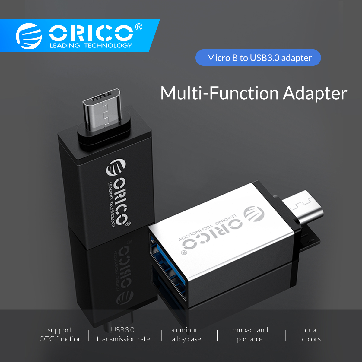 ORICO OTG Adapter Micro USB To Type C Adapter Converter For Huawei Samsung Macbook OPPO USB 3.0 To Type C Micro B USB Type-C OTG