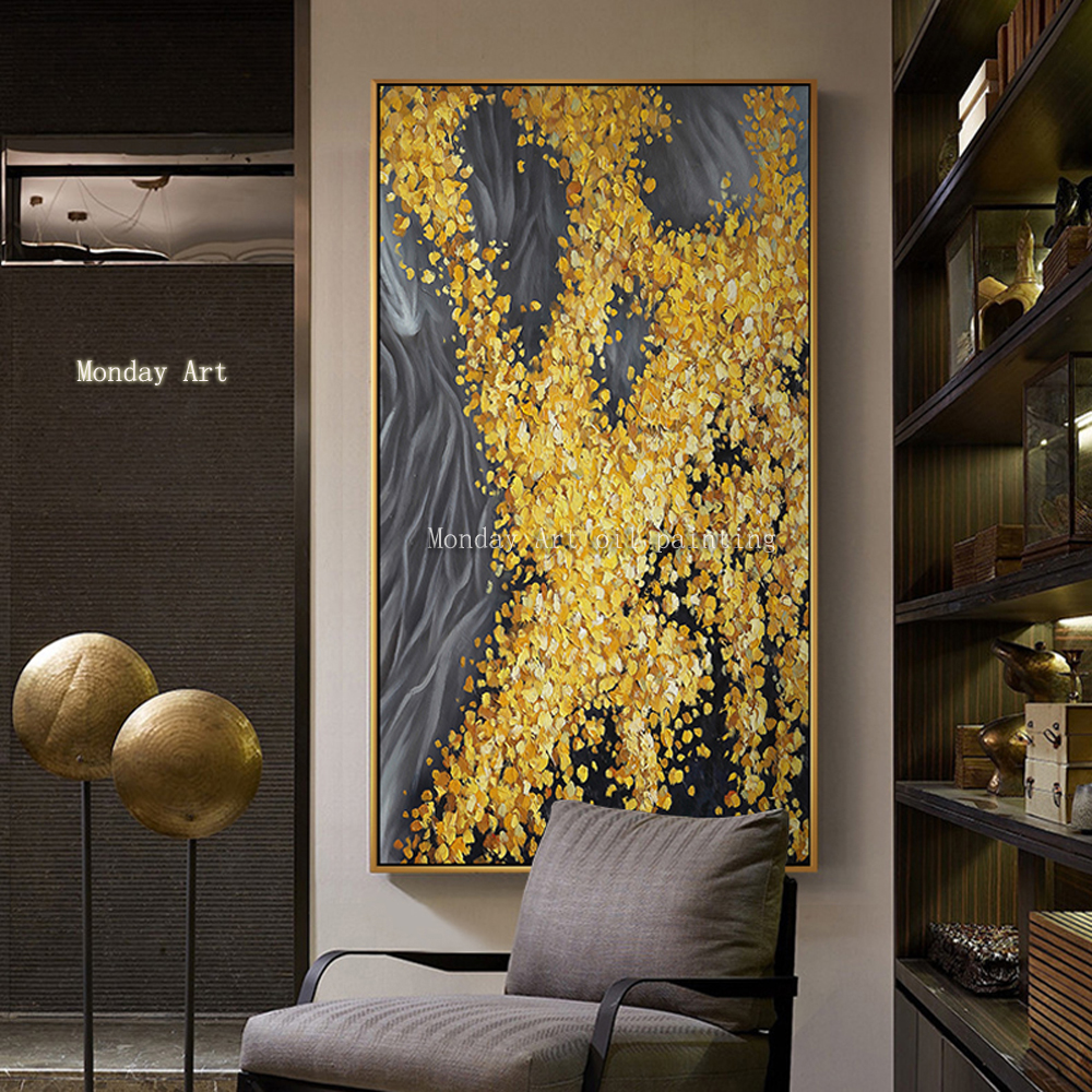 handmade-oil-painting-on-canvas-modern-100-Best-Art-Modern-Abstract-oil-painting-original-directly-from (4)