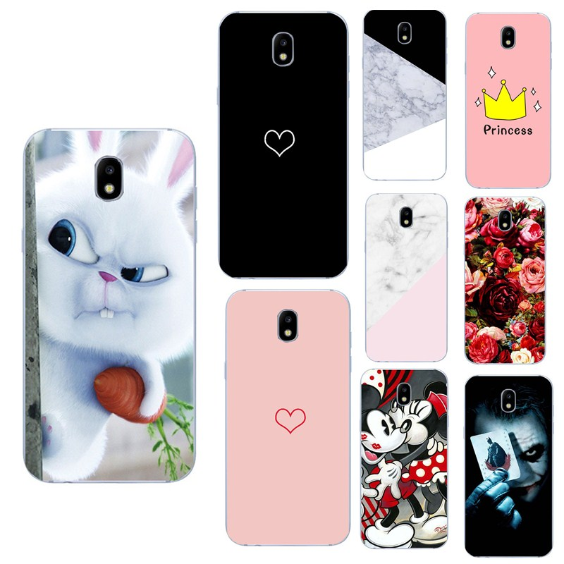√For samsung galaxy j5 2017 case Marble Silicon TPU Coque For ...