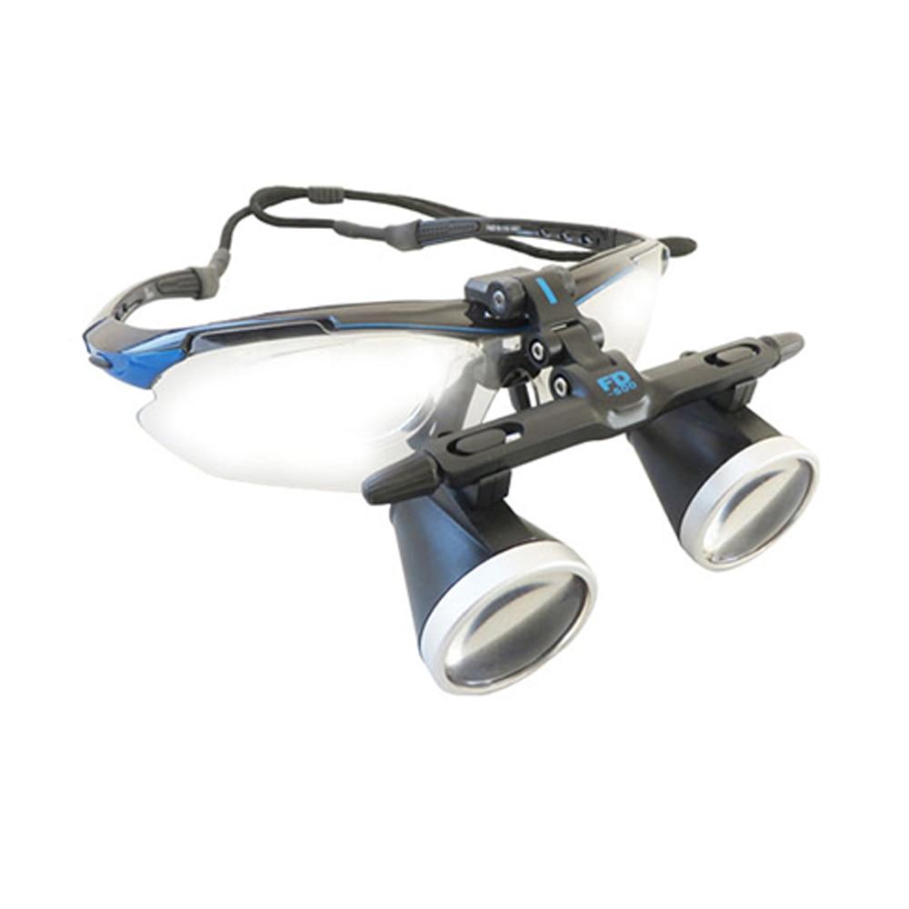 Высокое качество ультра легкий 3.5X медицинская увеличительное стекло Хирургические лупы Стоматологическая лупы медицинский лупы с светоди