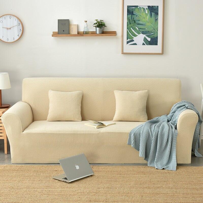 Simple Beige Sale Furniture All Inclusive Sofa Slipcover