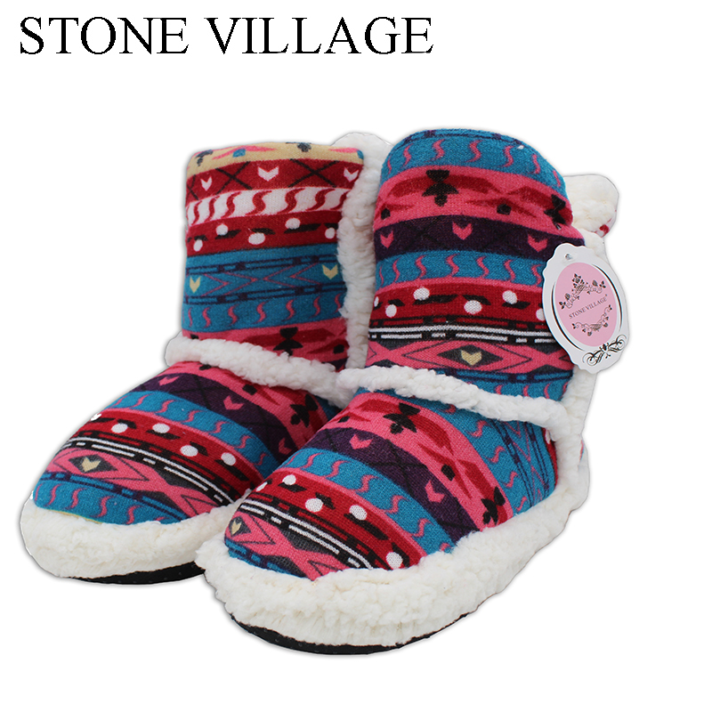 New Arrival Mixed Colors Women Slippers Warm Soft Woolen Indoor Slipper Plush Home Slippers Floor Household Slippers Size 35-41