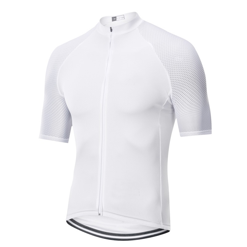 Cycling-Jersey SPEXCEL Miti-Fabric Italy White Climber for Best Top-Quality Gentleman