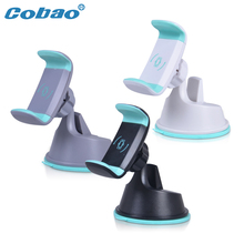 Cobao 2017 Universal car phone mount holder dashboard clip mobile cell phone holder for iPhone Samsung Xiaomi Huawei accessories