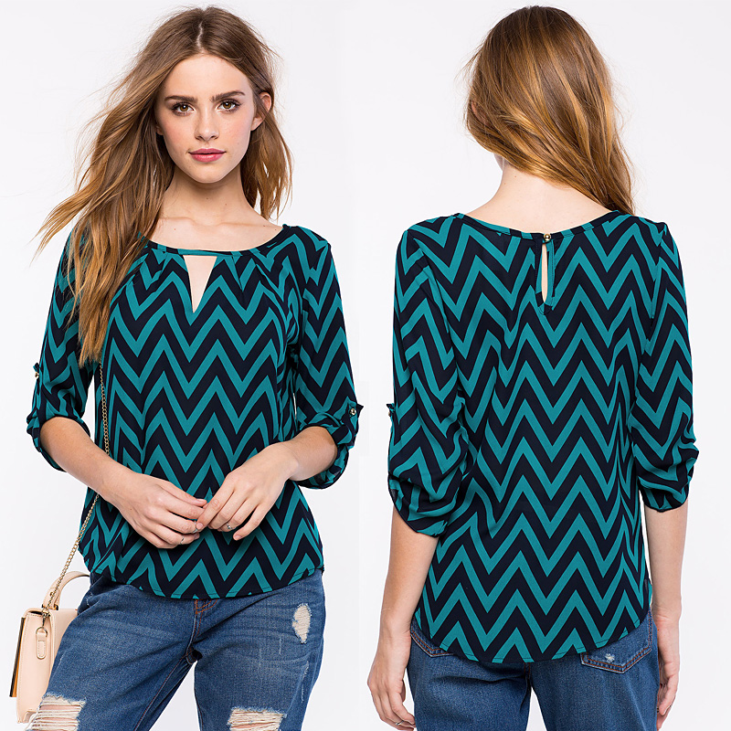 27 lo mejor de la moda en blusas chifon blusasdemodaorg - Lo ultimo en moda ...