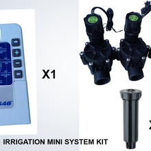 irrigation system New 4 area lawn sprinkling water irrigation/DIY kits